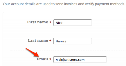 Account Email
